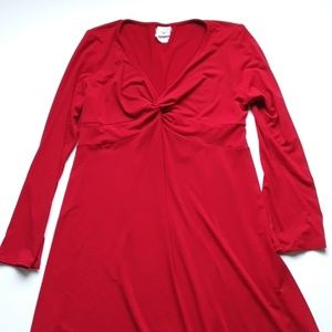 Motherhood Maternity Red Dress